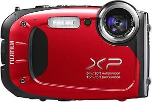 Fuji-Finepix-XP60-Waterproof-16-Megapixel-5x-Zoom-HD-Movie-Digital-Camera-Red