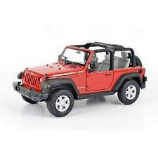 Welly we22489cw jeep wrangler rubicon 2007 white 1:24