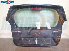 Cofano posteriore Chevrolet Spark nero