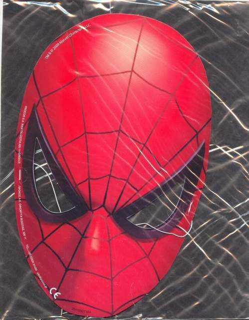 SUPER HEROES Marvel: MASCHERA SPIDER MAN