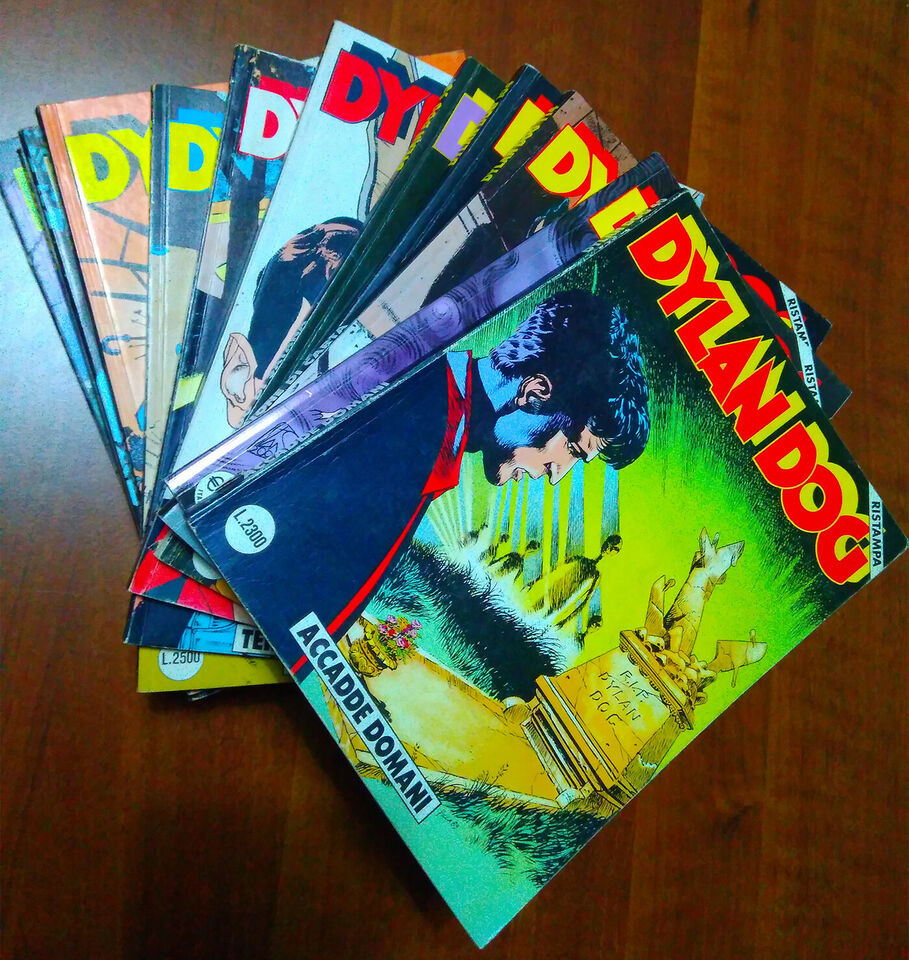 Lotto albi dylan dog ristampa