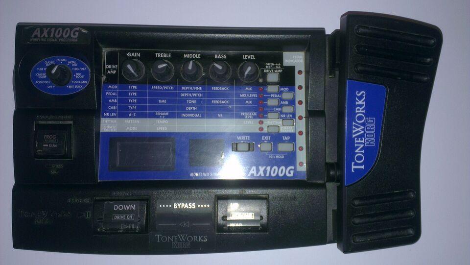 KORG AX100G Toneworks