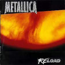 "Cd metallica ""reload"" album 1997"