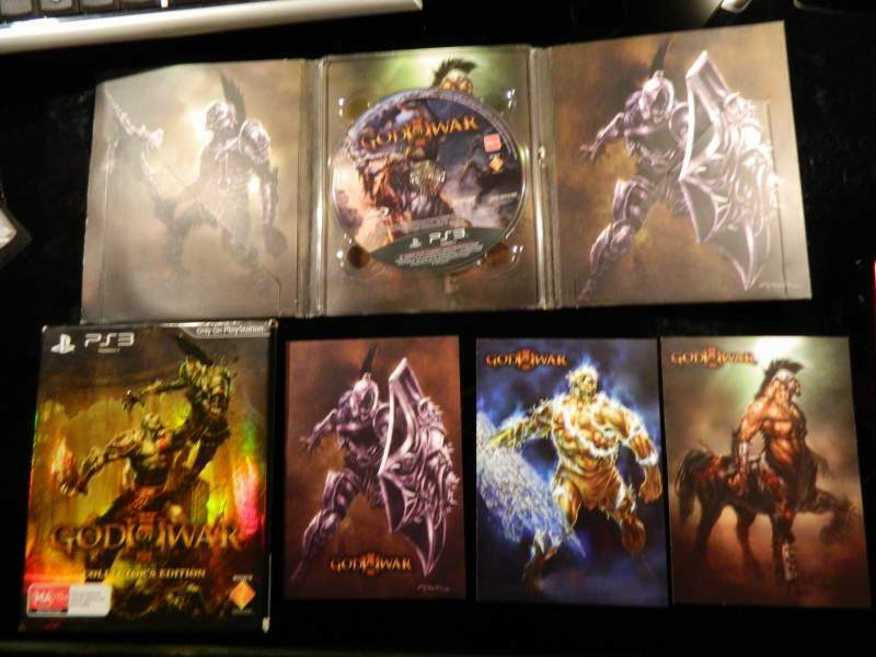 God of War III (3) PAL Special Collector's Edition