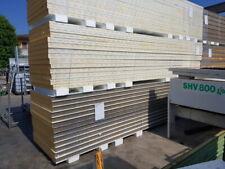 20 pannelli coibentati nuovi di seconda sp. 8cm 112X600cm