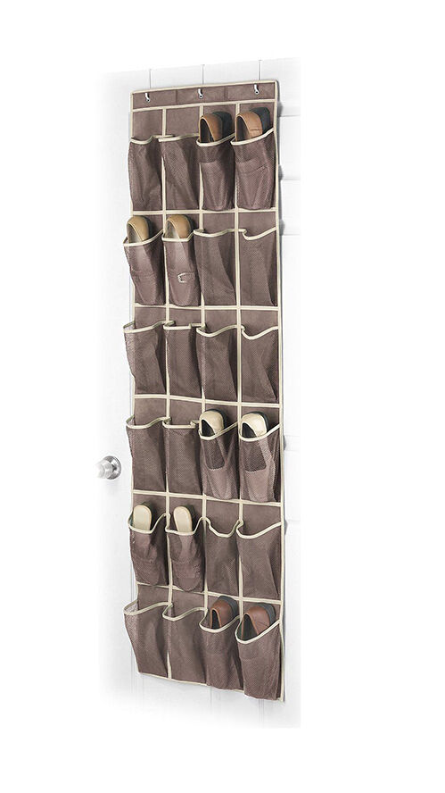 Shoe organizers the complete guide to imperfect homemaking day 7 diy pocket organizer shoe - Shoe racks for small spaces collection ...