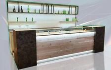 Banco bar completo refrigerato usati/fiera campionaria su misura