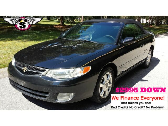 toyota camry 2dr conv se 2001 toyota solara convertible. Black Bedroom Furniture Sets. Home Design Ideas