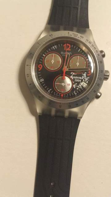 Swatch Irony Diaphane 2004 Olympic Collection