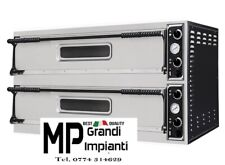 Forno pizza 2 camere cm 108x41x14h - 3+3 pizze