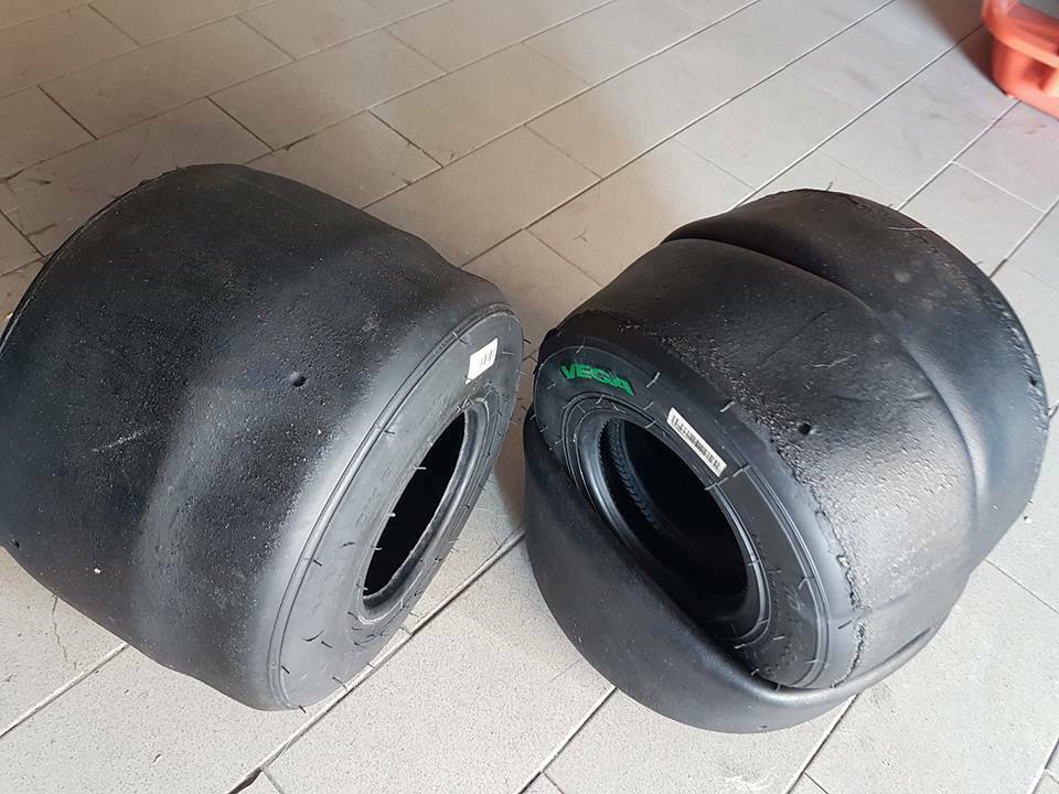 Gomme kart usate 60 100 125 cc 5