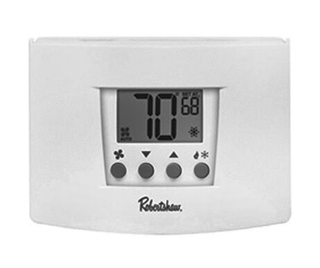 how to set robertshaw thermostat