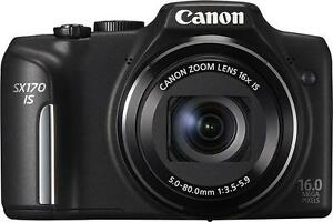 Canon PowerShot SX170 IS 16.0 MP Digital...