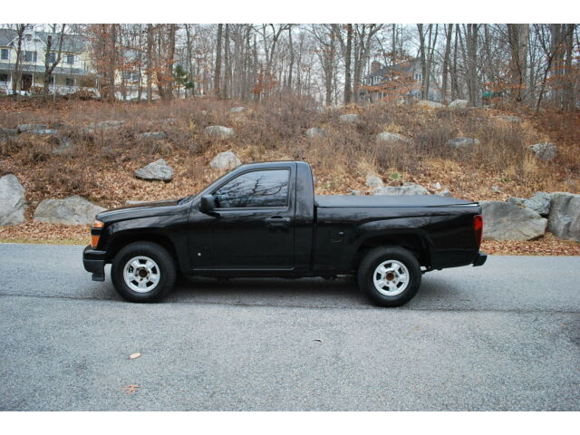 2008 chevrolet colorado ls black clean carfax sweet low. Black Bedroom Furniture Sets. Home Design Ideas