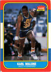 Fleer Karl Malone 1986-87 Season Basketball Trading Cards