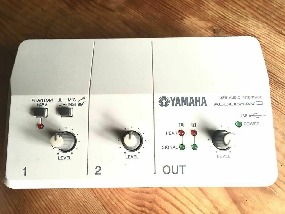 Yamaha audiogram 3 usb scheda audio interface midi