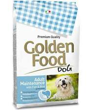Golden Food Adult Maintenance pesce e riso 12,5 kg per cani 1 sacco x
