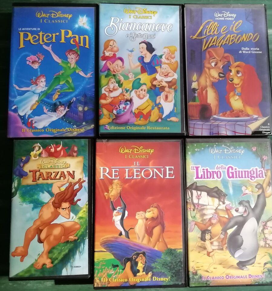 VHS originali Walt Disney 3