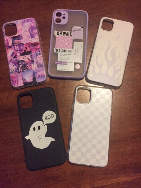 Cover in Silicone Set n.5 pezzi per Apple Iphone...