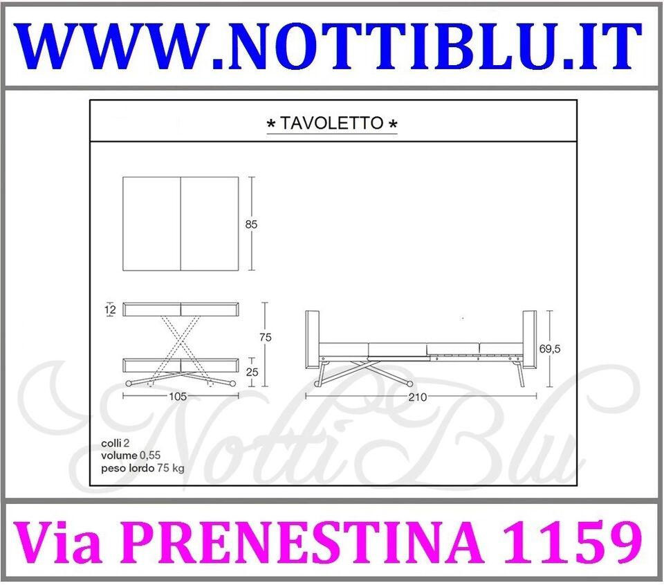 Tavolini Trasformabili _ Tavolino Trasformabile TAVOLETTO / A24 8