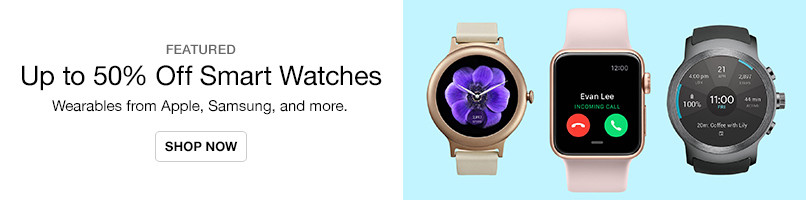 Up to 50% Off Smart Watches