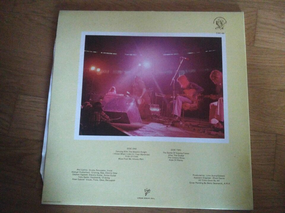 VINILE GENESIS Selling England By The Pound 2