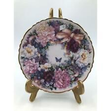 Piattino porcellana fiori