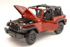 Maisto mi31610c jeep wrangler open top 2014 copper metallic 1:18