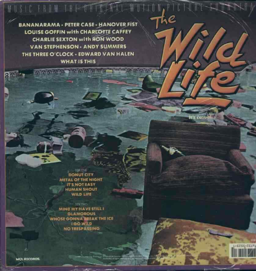 Colonna sonora the wild life lp