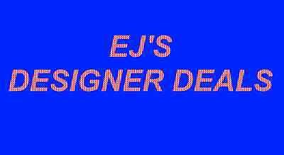 EJ's Designer Deals