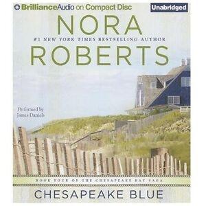 CHESAPEAKE BLUE unabridged audio book on CD by NORA ...
