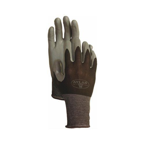 With A Flexible Nitrile Coating, The Atlas 370BBKL Gloves Are Stronger Than  The Usual Rubber To Protect The Palms Of The Hands And Fingertips From The  Tough ...