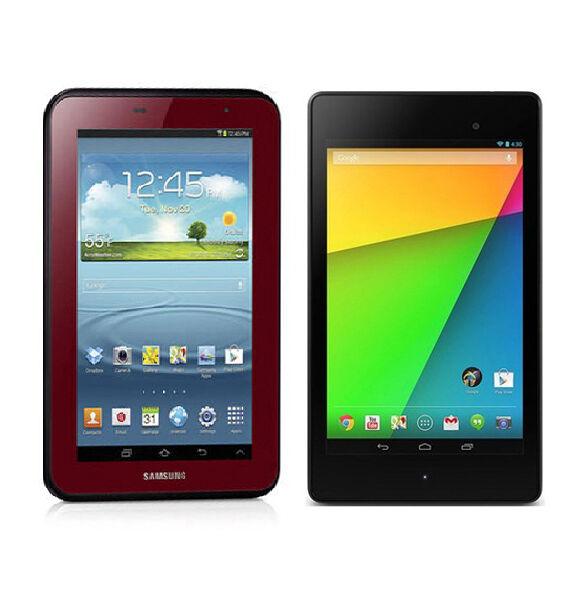 Samsung Galaxy Tab 2 vs. Google Nexus 7