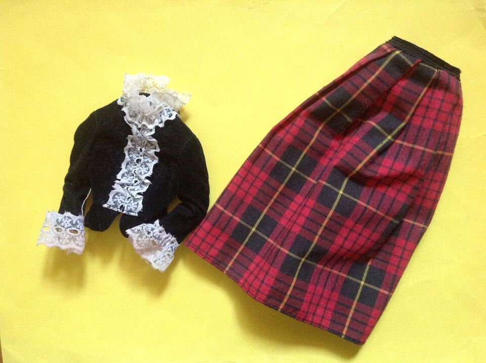 Barbie Superstar outfit Scottish 1981 Vintage perfetto