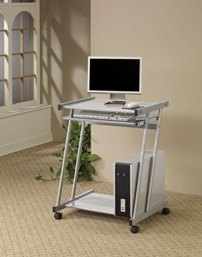 for consumers looking for a simple computer desk setup the coaster home furnishings office computer desk provides the bare bones