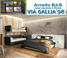 "Arredo hotel a roma- CAMERA """"PR0JET 03""""- BED BREAKFAST "" B&B"