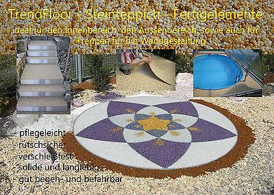TrendFloor Steinteppich Kieselboden