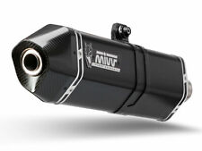 B.013.LRB MIVV speed edge acciaio nero bmw c 650 gt 2012-2015