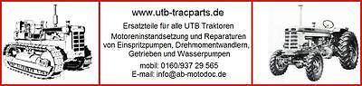 UTB Traktoren/Ersatzteile