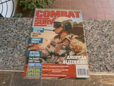 COMBAT and SURVIVAL magazine - may 1991