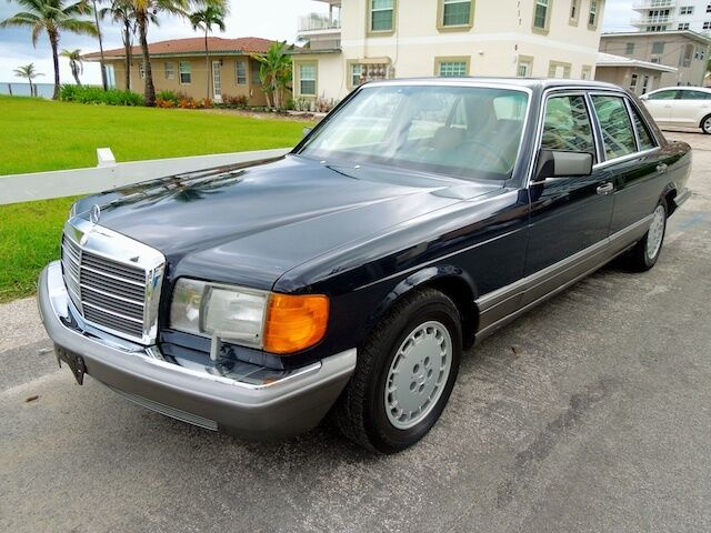 91 mercedes 350sdl turbo diesel pristine collector cond for Pompano mercedes benz dealership