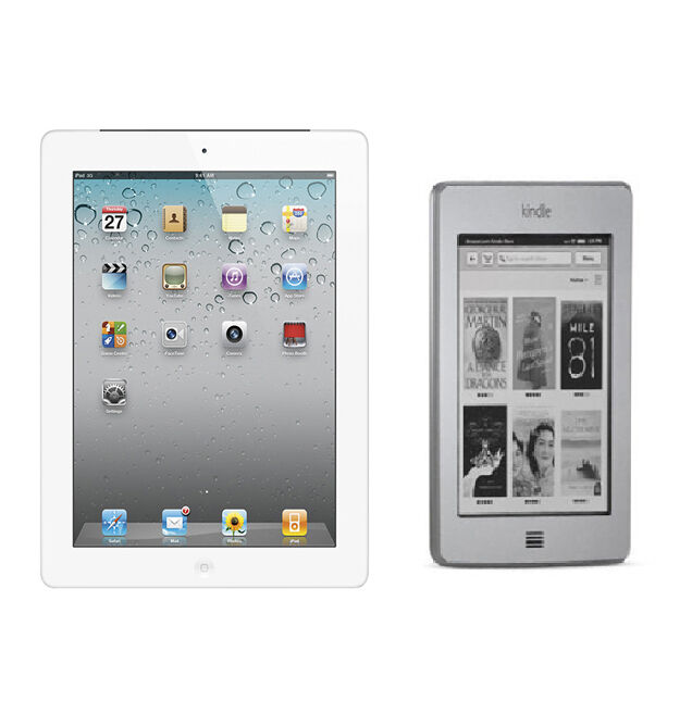 iPad 2 vs. Kindle Touch
