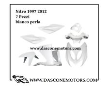 Kit carene mbk nitro aerox 1997 2013 bianco perlato