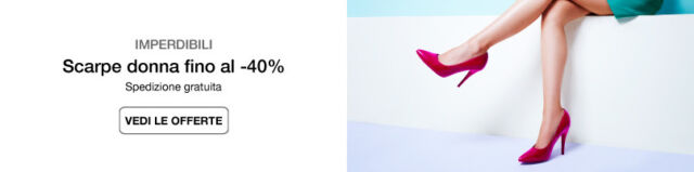Scarpe donna fino al -40%