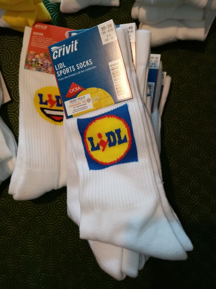 Calze lidl - lidlfan - limited edition 4