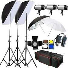 Kit Professionale Foto studio Flash Stativi SoftBox 750W