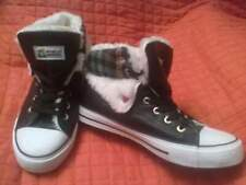 Nuove sneakers nere in similpelle n.38