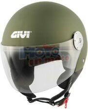 Givi Casco Air Jet 11.1 Doppia Visiera Colore Giallo Fluo Varie Taglie Outlet