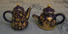 Teierine casetta miniatura porcellana teapot mini china blue