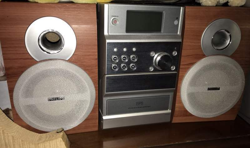 Philips Micro Hi-Fi System MCM190 MP3 stereo